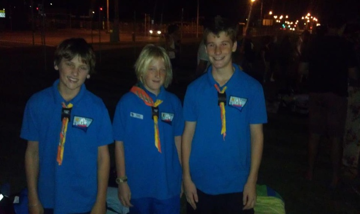 The 3 Amigos from Troop D50! Ready to leave at 10:30PM New Years Eve..