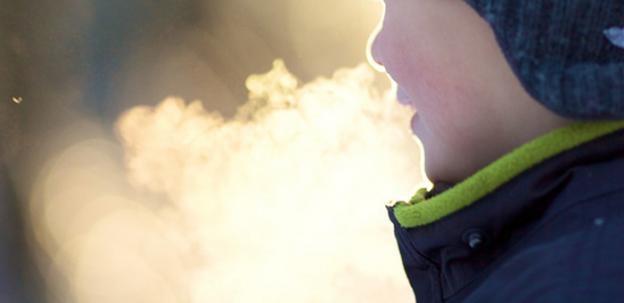 cold breath in winterCold Breath In Winter