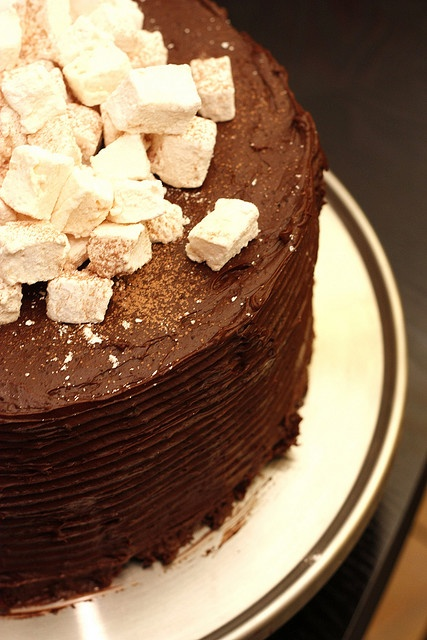 Hot Chocolate Birthday Cake (Time consuming, but I suspect the end ...