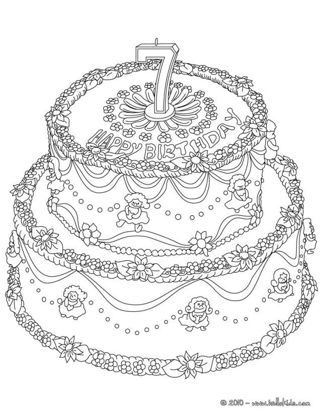 30 Great Picture Of Birthday Cake Coloring Page Albanysinsanity Com Birthday Coloring Pages Happy Birthday Coloring Pages Coloring Pages For Girls