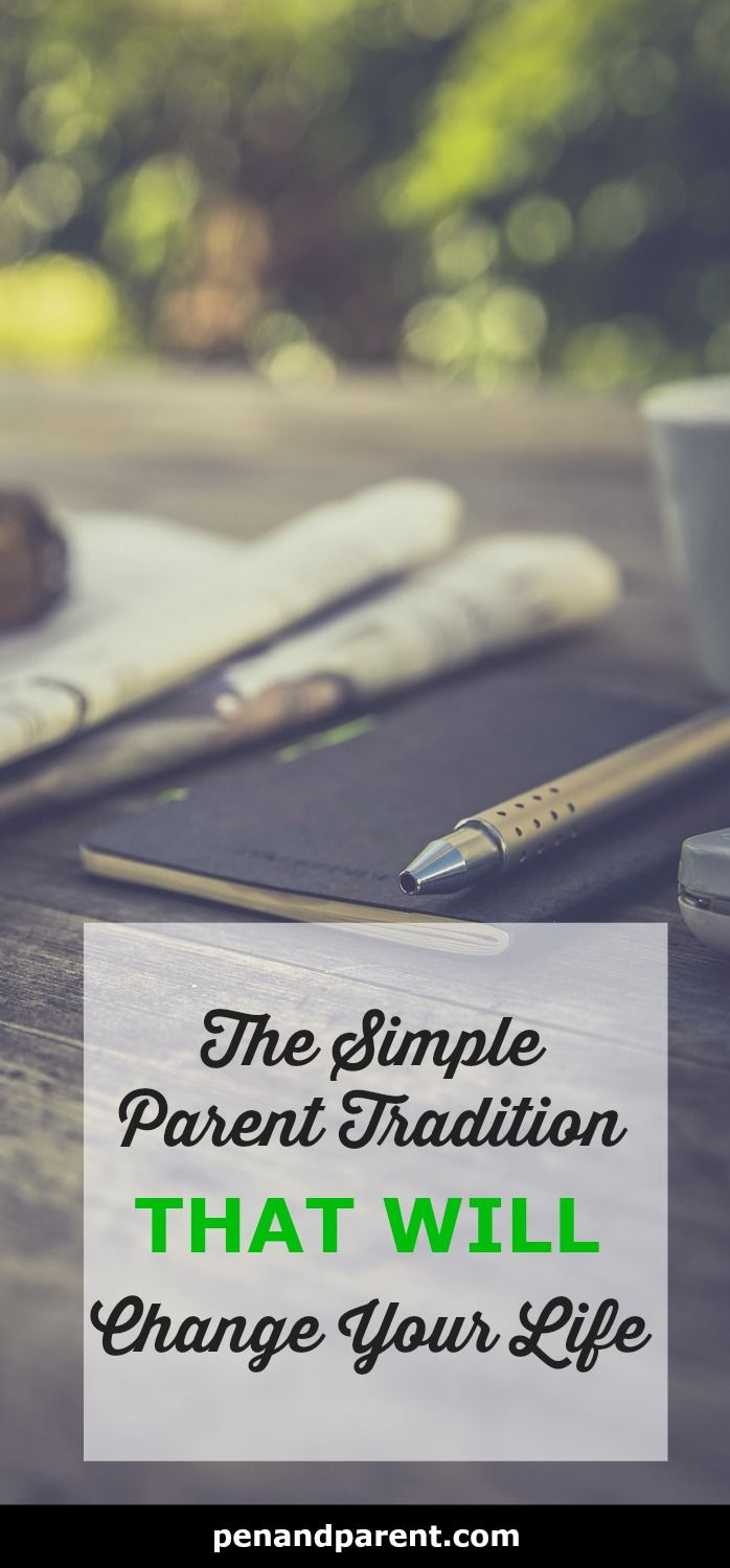 As parents we don't have much time to reflect on what we've learned as a parent. But, what if there's a simple parent tradition that will change your life. Discover how to reflect on your parenthood journey and grow with your children. Parenting traditions.