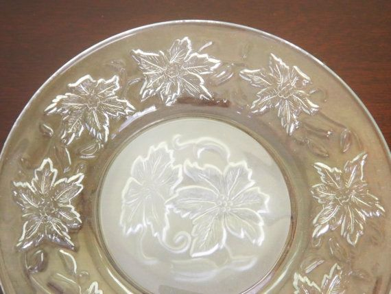 Clear Glass Saucers
