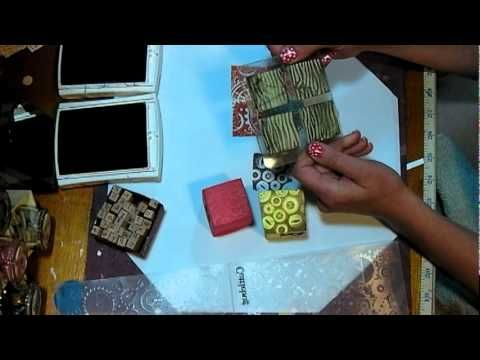 using foam to make your own stamps: Stamps Cool, Stamps Videos, Blocks Stamps, Bath Blocks, Heat Gun, Foam Stamps, Baby Bath, Amazing Ideas, Custom Stamps