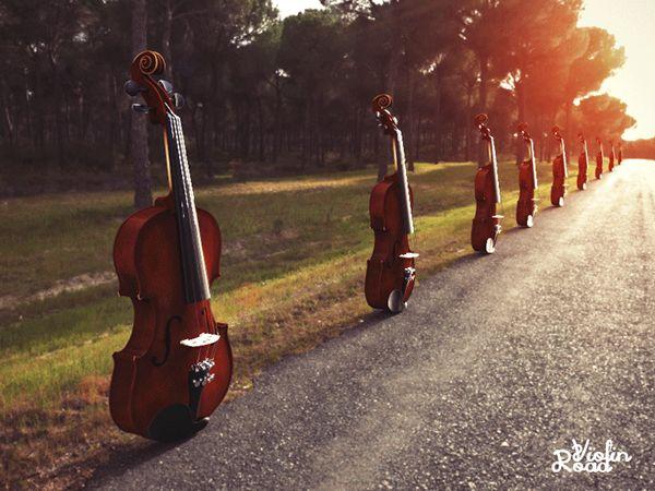 фото дороги скрипичный ночной ключ того