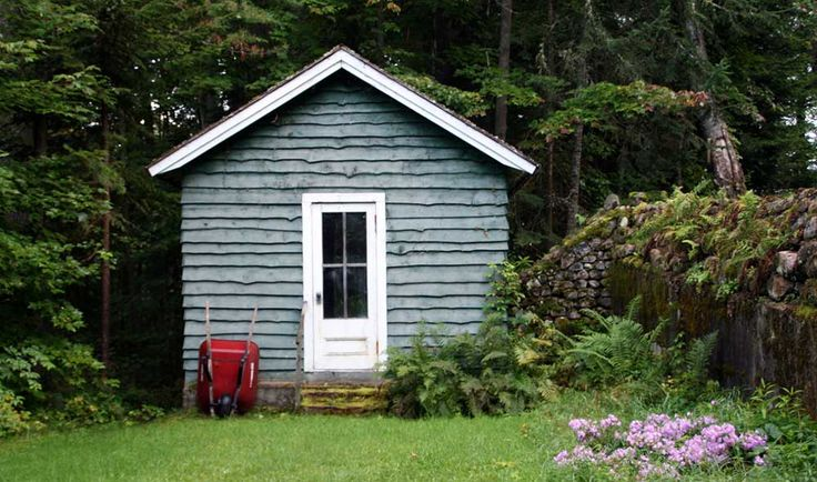 Every man needs a backyard shed. But of course it's not just men: quite a few women are using them as popular places of refuge.