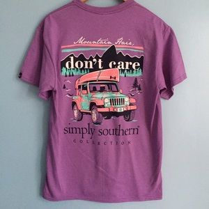 I just discovered this while shopping on Poshmark: Simply Southern Jeep Shirt. Check it out! Price: $18 Size: M