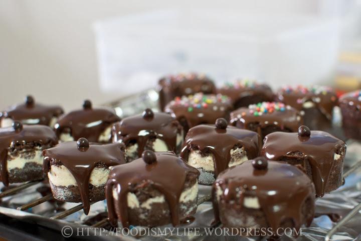 Baileys Cake Bombs