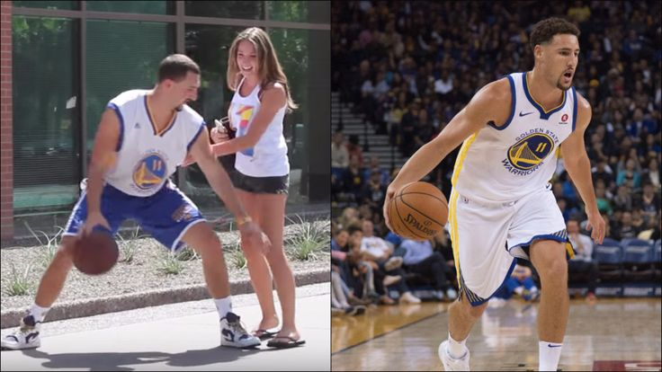 Fake Klay Thompson tried to convince college students that he was the real Klay Thompson - For The Win #college #collegestudents