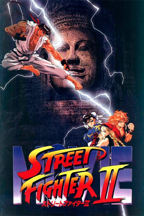 Watch Street Fighter II: The Animated Movie 1994 Full Movie Online Free