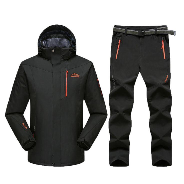 Mountain Skiing Ski wear Winter Waterproof Hiking Outdoor jacket Snowboard jacket Ski suit Man Large Size Snow jackets