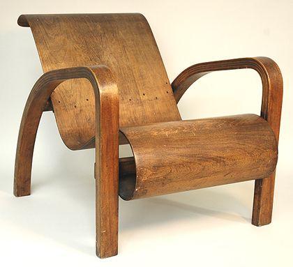Lounge chair by Waclaw and Stykolt Czerwinski, and Hilary Stratford