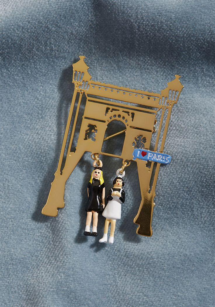 Les Nereides Purposely Parisienne Pin | ModCloth