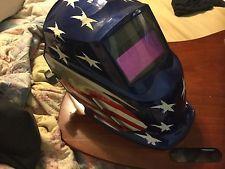 Miller Electric Welding Helmet American Flag Stars And Stripes