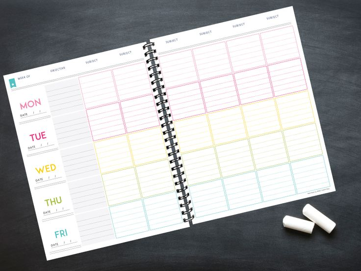 The 2016 - 2017 Deluxe Teacher Planner Teaching, Planners and
