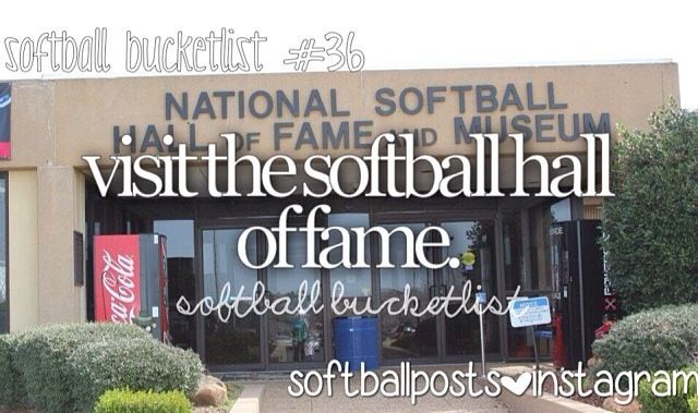Hopefully that will happen this year!!!!! Softball