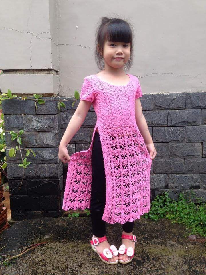 áo dài trẻ em (2)'