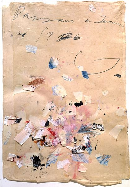 Cy Twombly, Paper Art, Mixed Media, Colleges Graduation, Colors Pencil, Paper Texture, Cytwombly, Pink Art, Colored Pencils