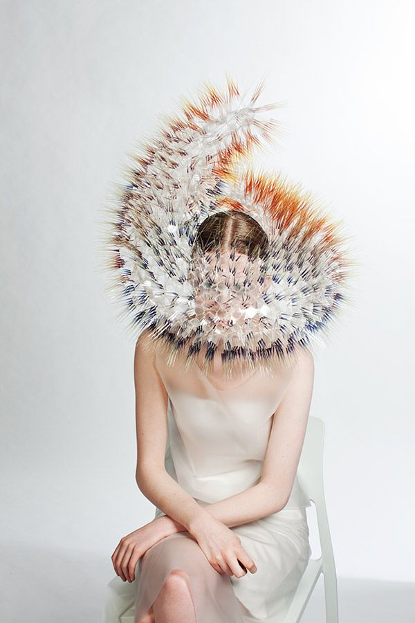 Maiko Takeda grew up in a post boom Tokyo where she quickly was faced with the challenge of wanting to create products of individual and timeless quality in a country slowly coming to a grinding halt. This meant that she more and more looked to areas outside of fashion and pop culture for impulses, exploring the city by foot, finding inspiration in the smallest and most random of things. http://crafthaus.ning.com/profiles/blogs/maiko-takeda-atmospheric-reentry