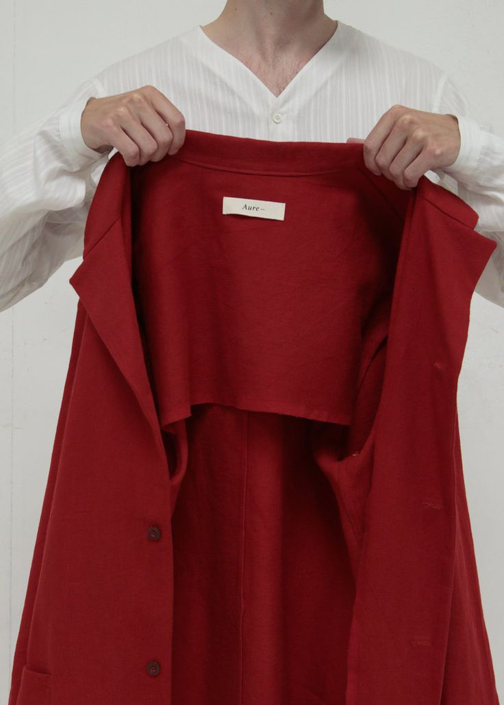 AURE Garments Painters Red Jacket