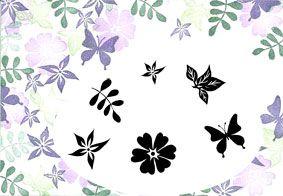 Summer Blooms - Majestix Clear Peg Stamp Set