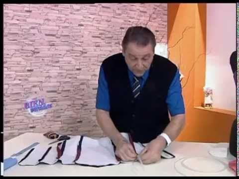 Hermenegildo Zampar - Bienvenidas TV - Explica en moldería el Cuello Camisero. - YouTube