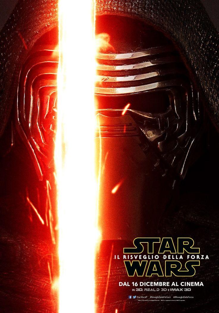 Star Wars Il Risveglio della Forza Character Poster - Kylo Ren