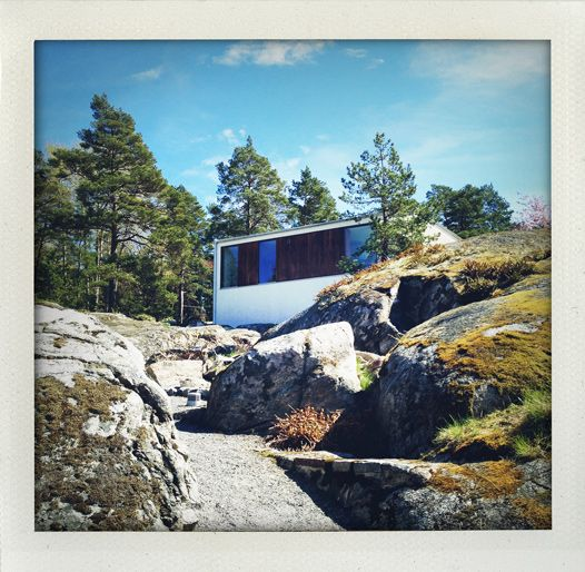 Villa Weekend: Stunning architecture in the swedish archipelago (Argark at Vindö)