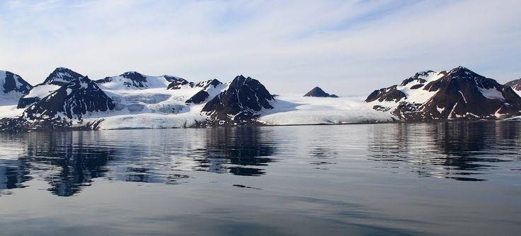 Glaciers  on Oscar II land