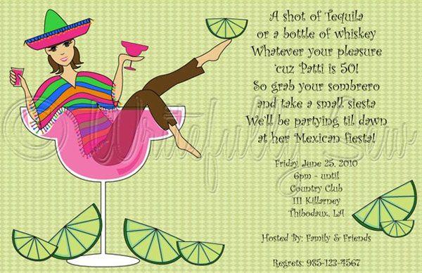 Cinco de Mayo party invitation
