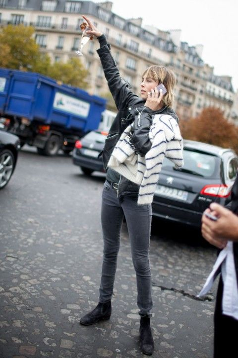 Paris Fashion Week Street Style AW16 - Paris Fashion Week: The Photographs That Sum Up French Style