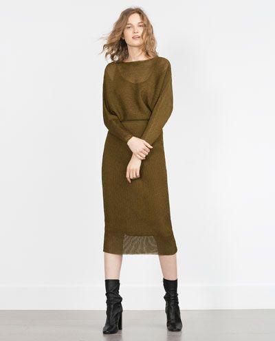 ZARA - WOMAN - FINE PLEAT DRESS