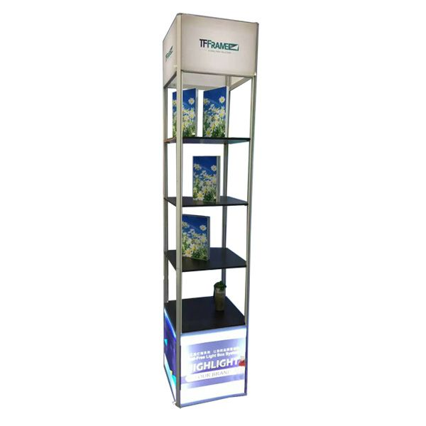 Light box cabinet from TFframe brand of Hawk Display. TFFrame is a Tool-free frame-making solution for making LED Light-box. We adopt aluminum and LED ...