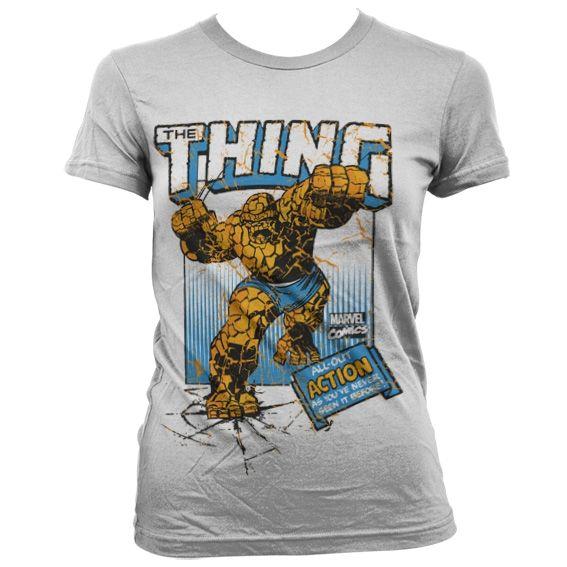 Marvel The Thing Action Koszulka Damska