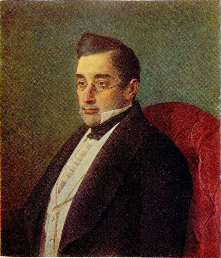 Portrait of Alexandr Griboyedov - Ivan Kramskoy