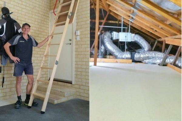 attic storage perth