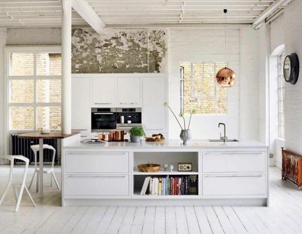 .: Interior Design, Interiors, Kitchen Design, House, Kitchen Ideas, White Kitchens