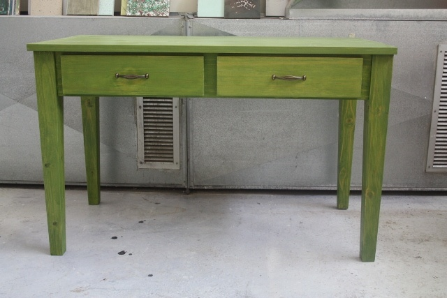 green dresser with drawers from eco furniture design