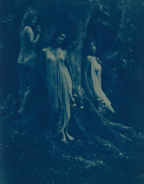 Nancy Ford Cones, Women in a Forest, circa 1925.