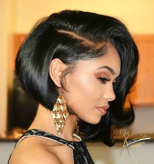 African American Bob Hairstyles 60 Showiest Bob Haircuts For Black Women  Pinterest  Black Bob