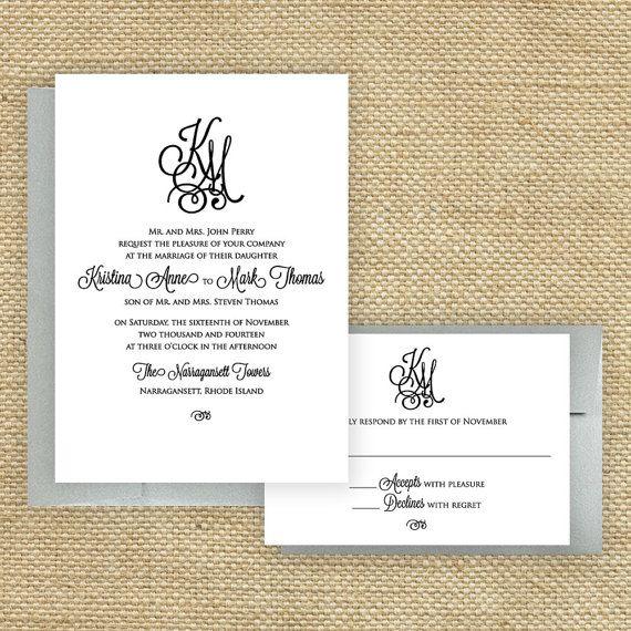 Best Wedding Invite Images On   Ampersand Wedding