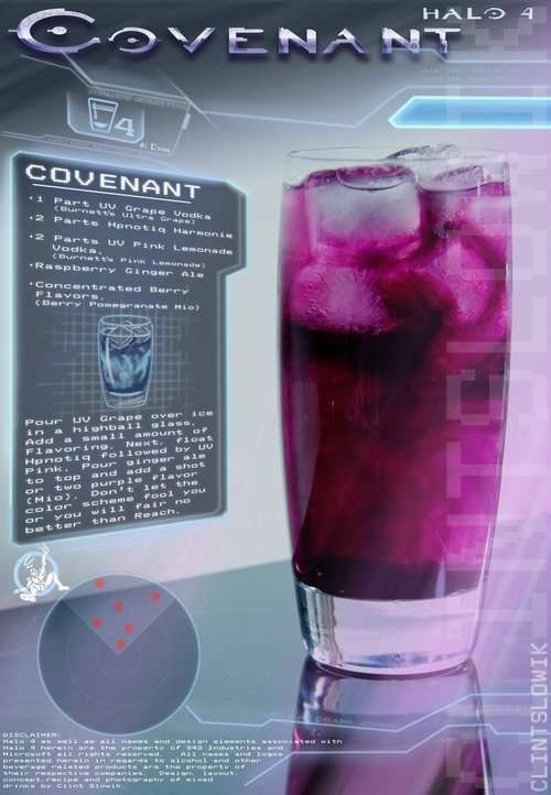 Legendary Video Game Booze - Clint Slowick Has Concocted a Variety of Halo Inspired Drinks (GALLERY)
