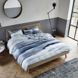 Zojuist Dekbedovertrek Essenza Mooa Blue Satijn-240 x 200 / 220 cm | Lits-Jumeaux gekocht: