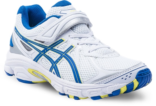 Gel Galaxy Boys PS with Velcro White/Blue/Yellow Available in sizes 10 - 3