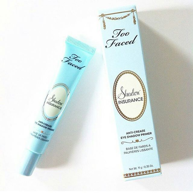 Are you primed for the week ahead? Too Faced featherweight Shadow Insurance Eye Primer is fade-proof, crease-proof, and intensifies pigments. It also lasts for 24 hours!  #toofaced
