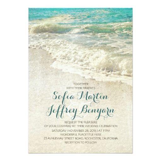 Best 25 Beach wedding invitations ideas on Pinterest
