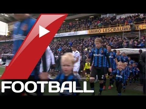 FOOTBALL -  Club Bruges v AA Gent | Belgian Pro League Goals  Highlights | 27-01-2013 - http://lefootball.fr/club-bruges-v-aa-gent-belgian-pro-league-goals-highlights-27-01-2013/