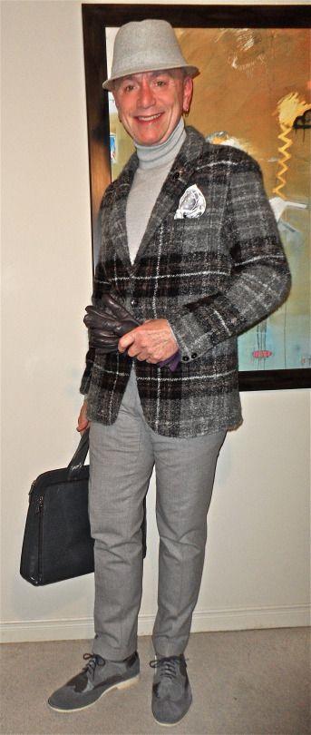 Studio Zara Man jacket, TOPMAN turtleneck, Hilton grey flannel trousers, B2 wing-tip derbies…  #ZaraMan #Zara #TOPMAN #Hilton #B2 #mensfashion #fashion #dandy #dapper #sartorial #sprezzatura #menshoes #mensweardaily #menstyle