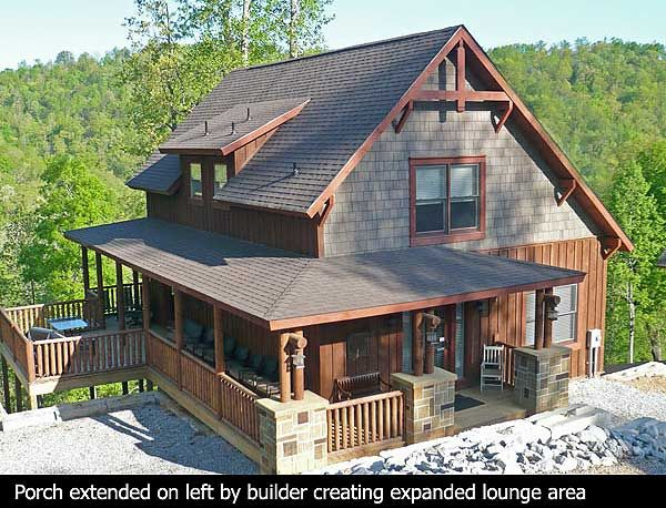 Classic small rustic home plan for Mountain house plans