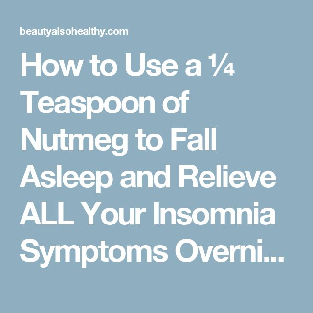 Insomnia symptons