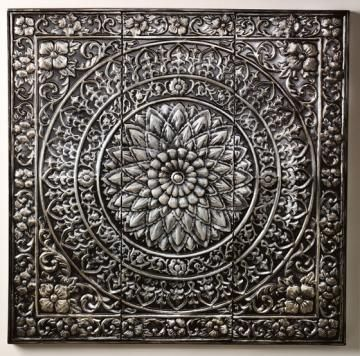 Add a Moroccan vibe with the Amaryllis Metal Wall Decor. HomeDecorators.com